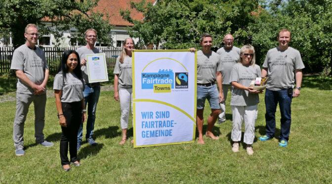 Bündnis feiert Auszeichnung: Mering ist Fairtrade-Gemeinde
