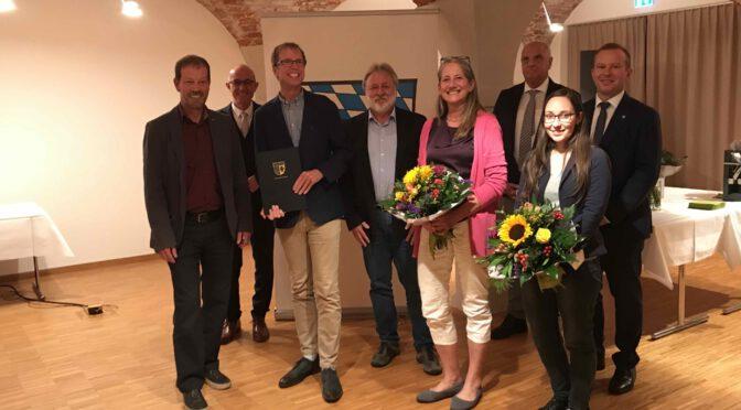 Voller Freude: Auszeichnung mit dem Umweltpreis